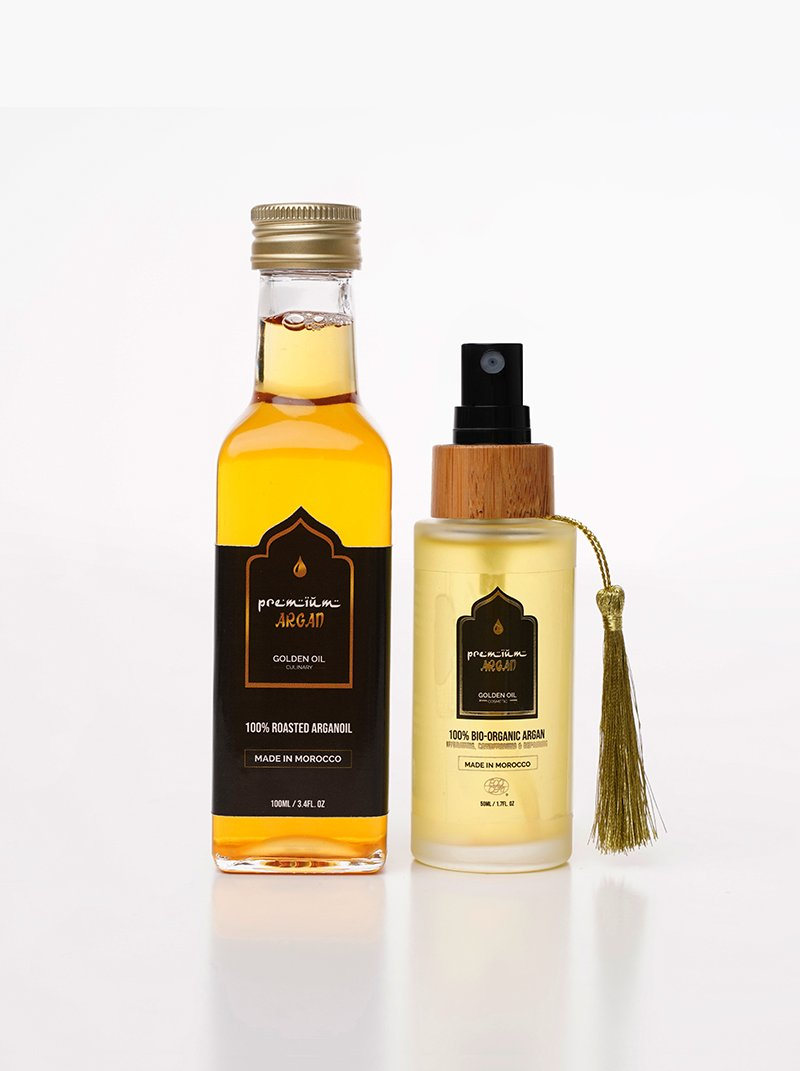 Combi Pack Cosmetic and Culinary Argan Oil